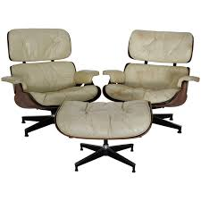 herman miller lounge chair. Pair Of Mid-Century Herman Miller Eames Lounge Chairs With Ottoman For Sale Chair