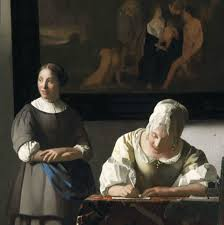 Vermeer Painter Of Light Johannes Vermeer Dutch Golden Age Painter 1632 1675 Woman