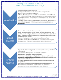 Literature Review Matrix Sample Dissertation Litearture Review Sample How To Write A Lit Review