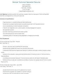 Audio Specialist Sample Resume Adorable Av Technician Sample Resume Colbroco