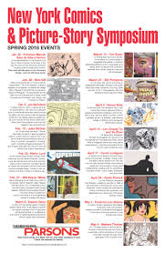 Characteristics Of A Superhero Spring 2018 Events New York Comics Picture Story Symposium