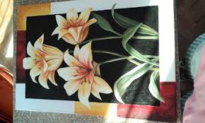 Painting Canvas Painting Flowers On Canvasacrylic Paint Youtube