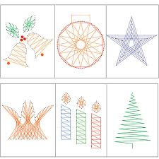 Free String Art Patterns Beauteous Christmas Home Page String Art Fun EPatterns String Art
