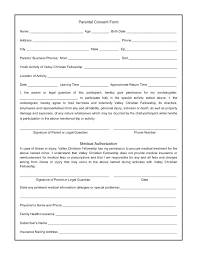 Free Medical Release Form Template Best Printable Child Consent ...