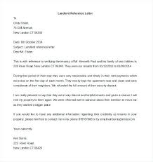 Landlord Reference Letters Beauteous Tenant Reference Letter For A Friend Juanmarinco
