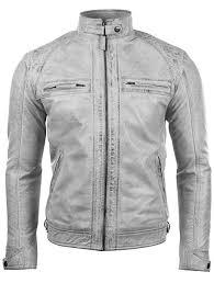 Aviatrix Men's Real Leather <b>Crosshatch</b> Shoulder Detail Fashion ...