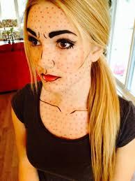 cartoon makeup makeup