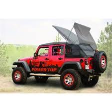 jeep powertop soft top for wrangler jk 4 door black 2007 2018