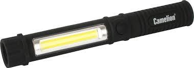 Купить туристический <b>фонарь Camelion</b> 51521 черный, 2 режима ...