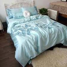 home cotton satin embroidery duvet cover set bedding bed queen king quilt country from indian quilts