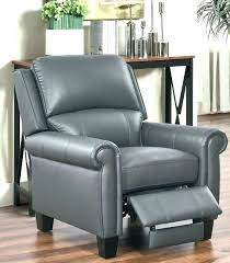 grey leather recliner. Gray Leather Recliner Grey Chair Elixir