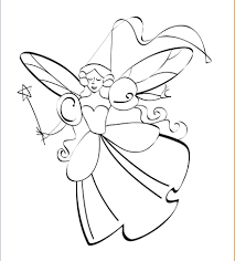 Fairy design coloring page for kids 411x456 document templates on order tracking template excel