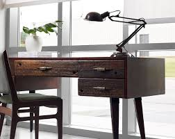 home office writing desk. Fantastic Writing Desk Ideas Present Comfortable Furniture To Work :  Contemporary Home Office With Salvaged Wood Home Office Writing Desk U