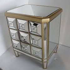 Mirrored Bedroom Furniture Mirrored Bedroom End Tables Mirrored Cabinet Nightstand Bedroom