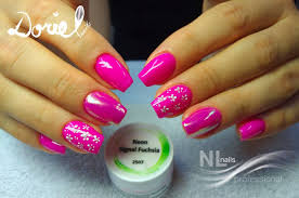 Neon Signal Fuchsia Barevné Gely Neon Nl Nails Profesional