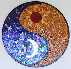 stained glass mosaic patterns yin yang mosaic link work but like the pic stained glass mosaic stained glass mosaic