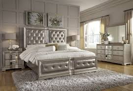 Couture Silver Panel Bedroom Set   Bedroom in 2019 ...
