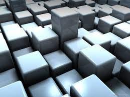 1600x1200 3d Cubes desktop PC and Mac ...