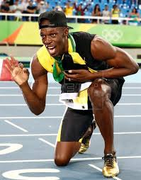 usain bolt running shoes. (file) archive image dated 19th august, 2016 showing usain bolt of jamaica posing running shoes 1