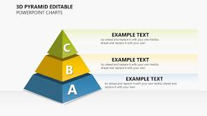 Pyramid Ppt 3d Pyramid Editable Powerpoint Charts Presentation