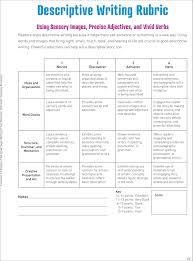 grade descriptive writing rubric google search academic grade 5 descriptive writing rubric google search