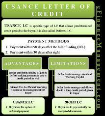 Letter Of Credit Process Flow Chart Ppt Usance Letter Of Credit Meaning Example Sight Vs Usance