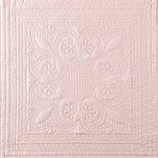french tile bedspread french tile quilted king bedspread in blush lifestyle french tile bedspread