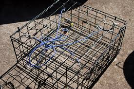 promar and danielson both make collapsible crab pots that make stowage easy i have both the danielson folding crab trap and one of the many promar folding