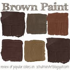 the top 7 popular brown paint colors