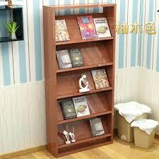newspaper rack for office. Magazine Rack For Office New Wooden Newspaper Display Propaganda Book Document Bookcase Bookshelf