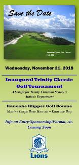 Trinity Classic Golf Tournament - Trinity Christian School
