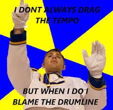 Predictable Drum Major via Relatably.com