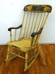 rocking chair antique styles photo 3 of spindle rocking chair antique stenciled spindle back rocking chair