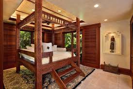 wood doors hawaii four poster beds with beige shade bedroom tropical and bedding sliding wood doors