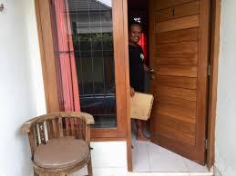 acmodation bali melrose kost room outside