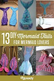 Mermaid Tail Pattern Stunning DIY Mermaid Tail Craft Ideas That You Can Actually Wear DIY Projects