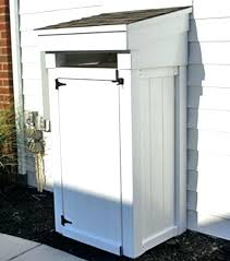 Trash Can Screen Outdoor Shower Privacy Enclosure A Showers Of