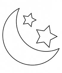 Small Picture Coloring Pages Of Stars And Moon Coloring Pages