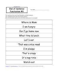 Punctuation Marks Enchantedlearning Com