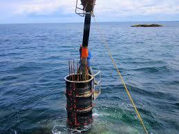 GEOTUB Rundsäulen im Wasserbau