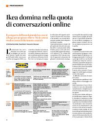 Ikea mondo convenienza e leroy merlin: che dice il web del design