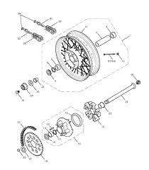 2014 triumph bonneville t100 rear wheel final drive parts best oem rear wheel final drive parts diagram for 2014 bonneville t100 motorcycles