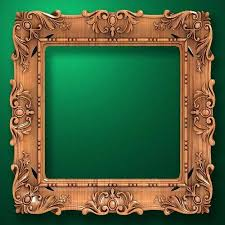 antique wood picture frames. Carved Wood Picture Frame Square Old  Antique . Frames