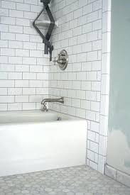 hex tile bathroom white hexagon floor 3 4 5 6 wall