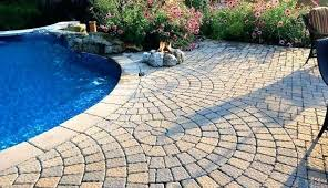 patio pavers over concrete. Pool Deck Pavers Over Concrete Bloc Patio S For Swimming Decks
