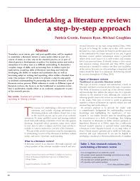 and utilization of a review of literature in a nursing research     Pinterest     Step    Write the Review