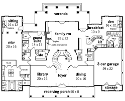 georgian colonial mansion floor plan