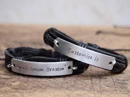 men s bracelet men s leather bracelet personalized men s bracelet personalized nameplate bracelet engraved mens anniversary bracelet