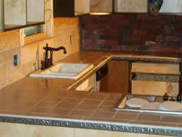 rustic tile kitchen countertops. Simple Kitchen Ceramic Countertops Kitchen Image Of Rustic Tile  Images Intended