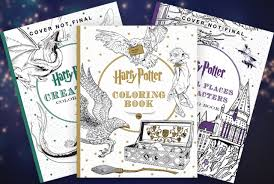 the quicker alternative to reading all the books harry potter coloring book 3 pack 33 54